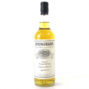 Springbank 1993 Private Cask 20 Year Old