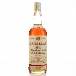 Macallan 1954 Campbell, Hope and King 80 Proof / Rinaldi Import