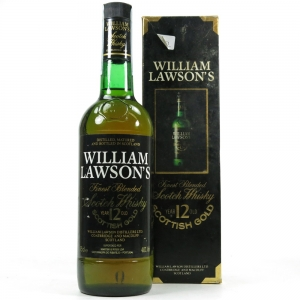 William Lawson's 12 Year Old Scottish Gold 1980s
