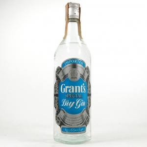 Grant's Special Dry Gin 1980s
