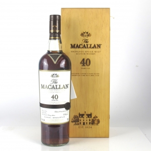 Macallan 40 Year Old 2016 Release 75cl / US Import