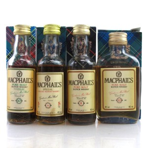 Miscellaneous Gordon & MacPhail Pure Malt Selection 1980s 4 x 5cl
