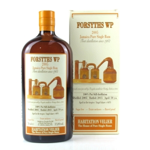 Forsyths WP 2005 Habitation Velier 10 Year Old Jamaica Single Rum