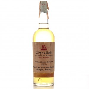 Clynelish 12 Year Old Ainslie and Heilbron circa 1950s-60s / Di Chiano Import