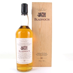 Bladnoch 10 Year Old Flora & Fauna / Wooden Box