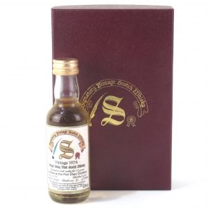 Port Ellen 1974 Signatory Vintage 17 Year Old Miniature 5cl