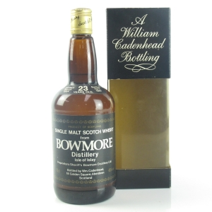 Bowmore 1964 Cadenhead's 23 Year Old