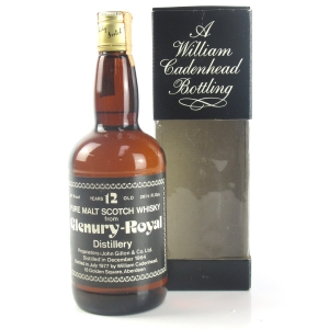 Glenury Royal 1964 Cadenhead's 12 Year Old