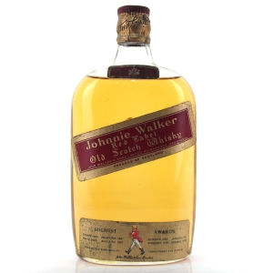 Johnnie Walker Red Label Half Bottle Circa 1960s