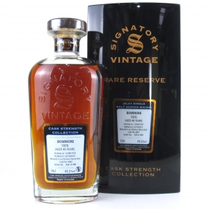 Bowmore 1970 Signatory Vintage 40 Year Old