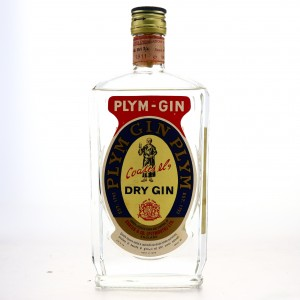 Plymouth Dry Gin 1970s