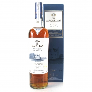 Macallan Boutique Collection 2017 Release