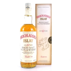Bruichladdich 10 Year Old 1990s