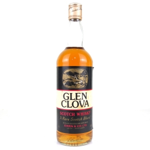 Glen Clova Scotch Whisky 1980s