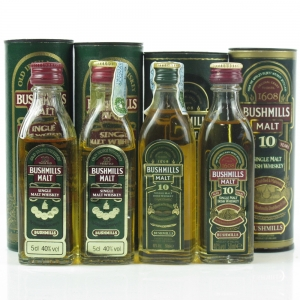 Bushmills 10 Year Old Miniature Selection 4 x 5cl