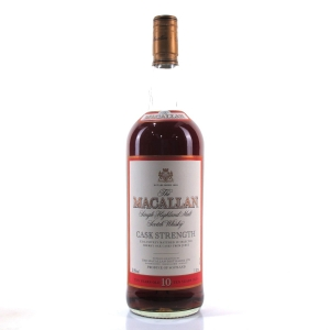Macallan 10 Year Old Cask Strength 1 Litre / US Import