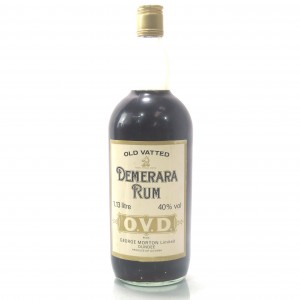 George Morton Old Vatted Demerara Rum 40 Fl. Ozs.