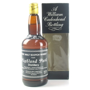 Highland Park 1957 Cadenhead's 21 Year Old