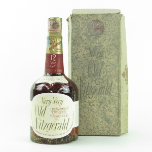 *IMG OF DATE NEEDED - Old Fitzgerald 12 Year Old Barreled 1955