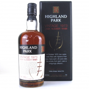 Highland Park 1973 Single Cask 28 Year Old #11151