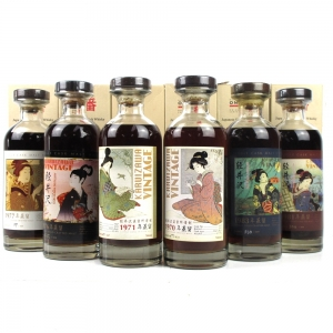 Karuizawa Geisha Collection Single Casks 6 x 70cl