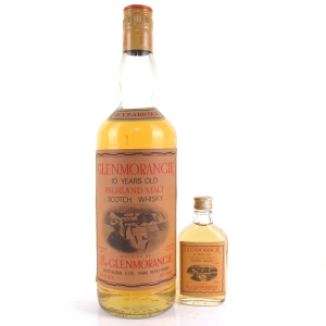 Glenmorangie 10 Year Old 1970s / Includes Miniature
