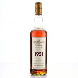 Macallan 1951 Fine and Rare 51 Year Old #644