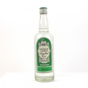 Tower of London Dry Gin 1980s