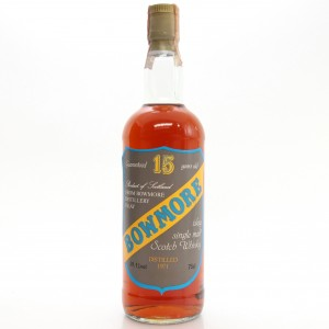 Bowmore 1971 Sestante 15 Year Old Cask Strength / Crest Label