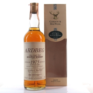 Ardbeg 1975 Gordon and MacPhail / Meregalli Import
