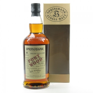 Springbank 1989 13 Year Old Port Wood Front