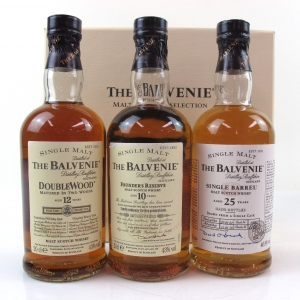 Balvenie Malt Master's Selection 3 x 20cl / Including 1978 25 Year Old Single Barrel