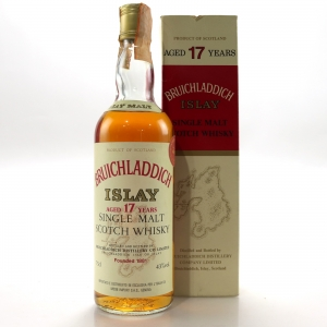Bruichladdich 1962 17 Year Old / Moon Import
