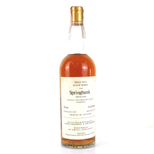 Springbank 1969 Duthie for Corti 75cl / US Import