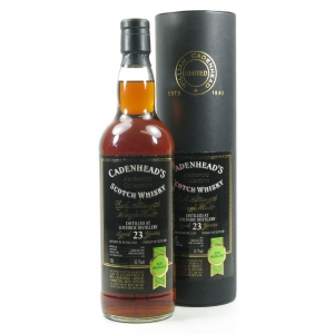 Lochside 1981 Cadenhead's 23 Year Old / Port Hogshead Front