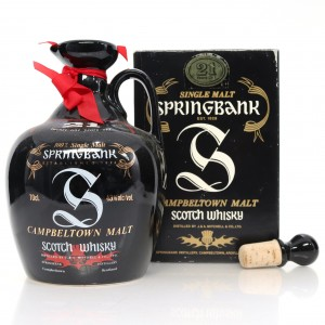 Springbank 21 Year Old Decanter 1990s