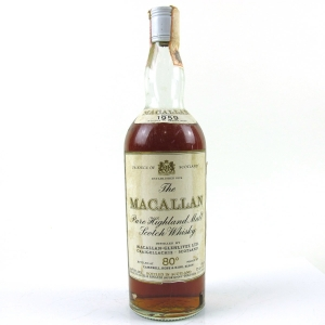 Macallan 1959 Campbell, Hope and King
