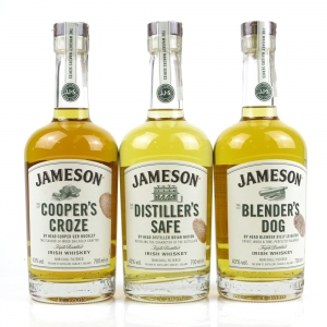 Jameson Whisky Makers Series / 3 x 70cl