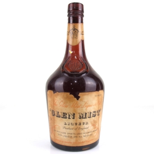 Glen Mist Scotch Whisky Liqueur 1950s