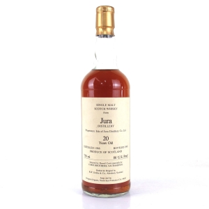 Jura 1966 Duthie for Corti 20 Year Old 75cl / US Import