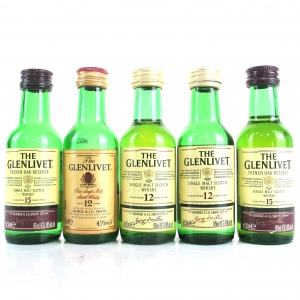 Glenlivet Miniature Selection 5 x 5cl