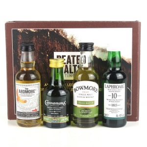 Peated Malts of Distinction Miniatures 4 x 5cl