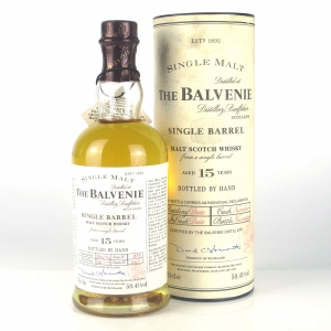 Balvenie 1977 Single Barrel 15 Year Old / bottled at 17 Year Old