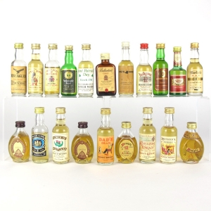 Miscellaneous Miniature Selection 20 x 5cl