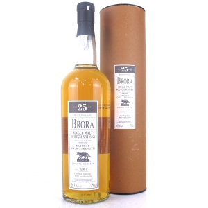 Brora 25 Year Old 2008 Release 75cl / US Import