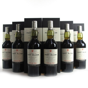 Port Ellen 1979 30 Year Old 9th Release 6 x 70cl