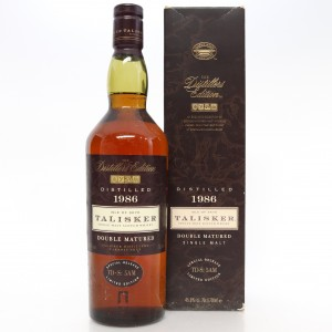 Talisker 1986 Distillers Edition / First Release