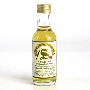 Dumbarton 1961 Signatory Vintage 29 Year Old Miniature 5cl