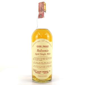 Balvenie 1965 Robert Watson Over Proof 1970s
