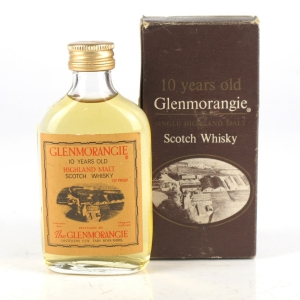 Glenmorangie 10 Year Old 1970s Miniature